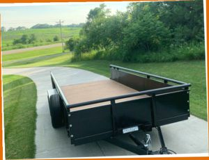 HAS TWO 3500 LB AXLES WITH PJ TRAILER BRAKES.FOR THE SALE $1000 for Sale in Concord, NH