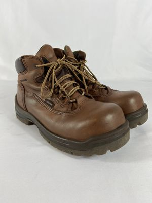 Redwing Steel Toe Womens Boot Size 7.5 B. Oil Resistant Sole, Water Proof Upper for Sale in Mesa, AZ