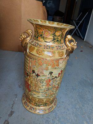 Japanese Satuma style vase for Sale in Decatur, GA