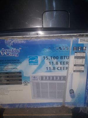 Artic king ac unit fits window 110 volts 18000 btus for Sale in Los Angeles, CA
