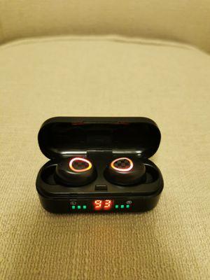 Bluetooth True Wireless Earphone 5.0 Earbuds Waterproof Music Headset for Sale in Rowland Heights, CA