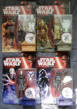 4 - Star Wars - The Force Awakens - 3 3/4 Action Figure Collection for Sale in Oakdale, CA