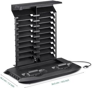 Vertical Stand Cooling Fan Cooler for Xbox One S /Slim with Controller Charging Dock Charger Station Game Storage Tower for Sale in Bethesda, MD