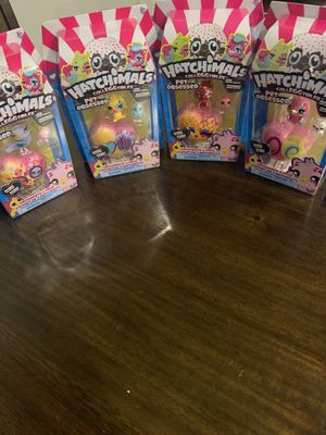 Hatchimals (4) New never opened for Sale in Manor, TX