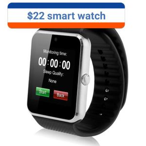 Smartwatch bluetooth screen camera nice powerful speaker for Sale in Richfield, MN
