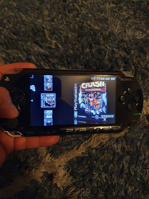 Psp 1001 modded 64gb sd card for Sale in San Jose, CA