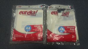2 Packs of Eureka AA Vacuum Cleaner Bags (6 Bags) for Sale, used for sale  Bronx, NY