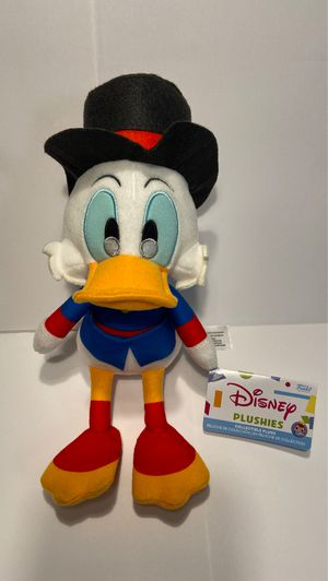 """Scrooge McDuck Afternoon Cartoons Collectible Plush 6"""" Funko Disney Plushies for Sale in Las Vegas, NV"""