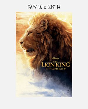 Lion King — KING MUFASA — Poster for Sale in Artesia, CA
