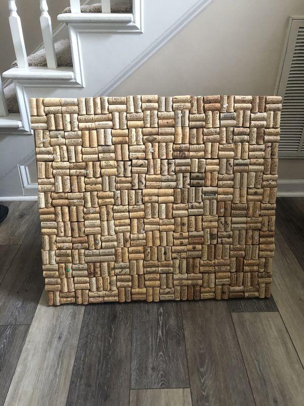 Homemade cork board