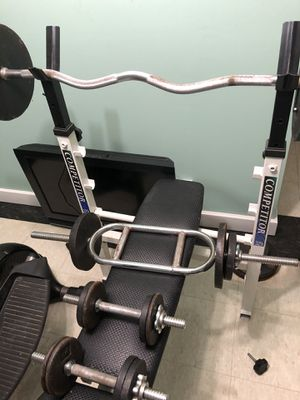 COMPETOR WEIGHT BENCH for Sale in Palos Heights, IL