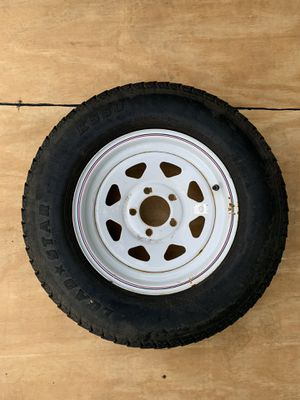 "14"" 5 lug trailer wheel tire for Sale in Waldwick, NJ"