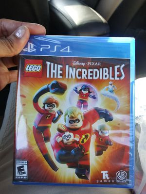 New PS4 The Incredibles for Sale in Saint Paul, MN