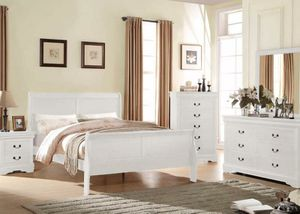 White Bedroom Set Brand New for Sale in Anaheim, CA