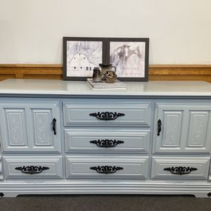 Beautiful Light Blue Buffet/ Sideboard/ Server for Sale in Bristol, CT