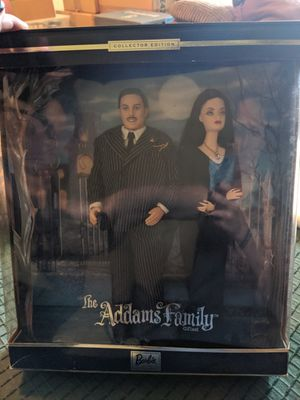 Barbie Addams Family Collector Edition Dolls for Sale in Mableton, GA