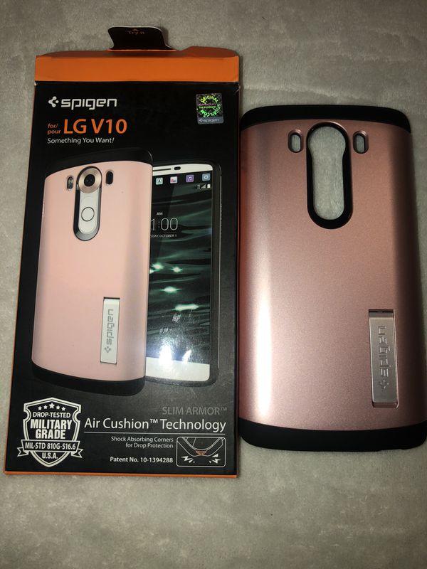 LG V10 case by Spigen Brand New (Features a Kickstand)