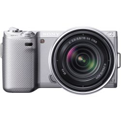 Sony Alpha NEX-5N Digital Camera with 18-55mm Lens (Silver) for Sale in Dallas,  TX