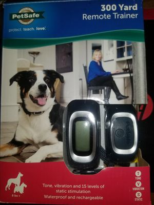 Pet safe Remote Trainer 300 yard for Sale in New Franklin, OH