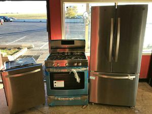 Different stainless steel appliances for sale! 50 percent off retail! New and used items!! for Sale in Willingboro, NJ