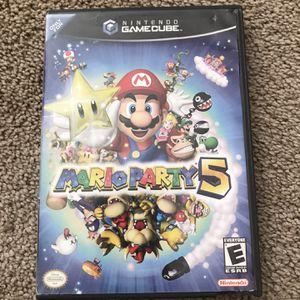 Nintendo GameCube Mario Party 5 for Sale in El Cajon, CA