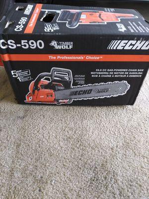 """Echo chain saw 20"""" blade cs-590 for Sale in Stockton, CA"""