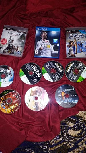 Ps3 games and xbox 360 games for Sale in Phoenix, AZ