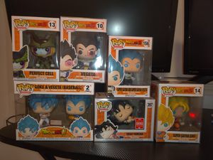 DBZ FUNKO POP LOT for Sale in Houston, TX