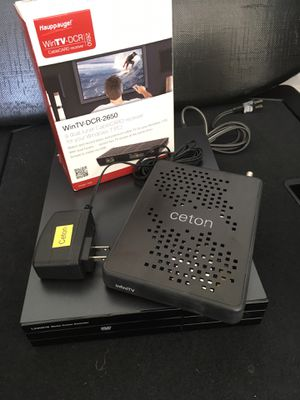 Hauppauge and Ceton Tuner and Linksys WMC Extender for Sale in Stockton, CA