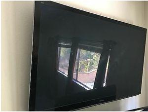 60 in Panasonic Plasma high definition TV for Sale in Renton, WA