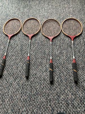 Badmitten racquets (4) for Sale in Westfield, NJ
