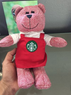 Starbucks collectible beanie baby bear 2016 for Sale in La Mesa, CA