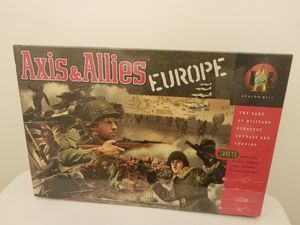 1999 Axis & Allies Europe NEW in SHRINK for Sale in Gaithersburg, MD