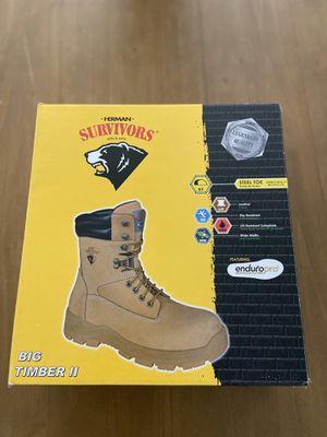 Herman Survivors Men's Big Timber II Steel Toe Work Boots- Sale! for Sale in Katy, TX
