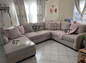 Sectional couch for sale for Sale in Richmond, VA