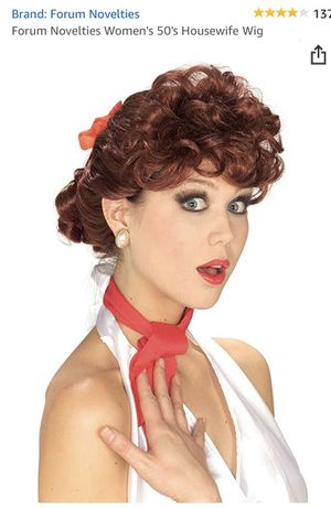 Halloween wig Forum Novelties Womens 50s wig for Sale in La Puente, CA