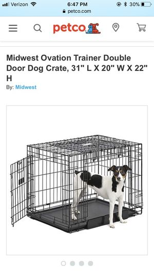 You and me collapsable dog crate for Sale in Washington, DC
