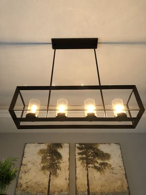 Modern Dining Light Fixture for Sale in Lake Oswego, OR