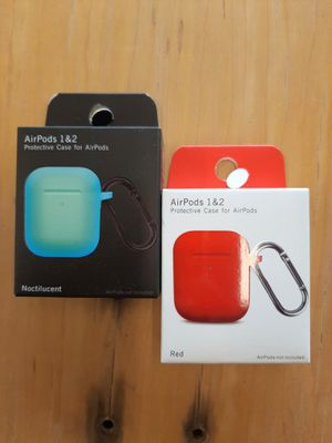 2 - Airpod 1&2 Silicone Case for Sale in Tyler, TX
