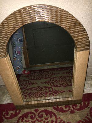 Wicker Mirror beige/brown for Sale in Richland, WA