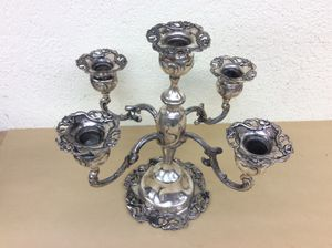 Antique Candelabra for 5 candles for Sale in Deerfield Beach, FL