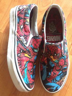Vans Slip-On Marvel Spider Man sz 9 for Sale in Los Angeles, CA