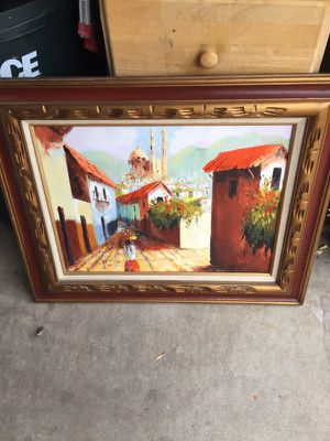 Painting with Frame by Palo G for Sale in Denver, CO