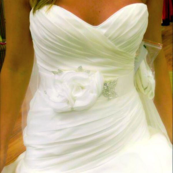 Precious wedding dress