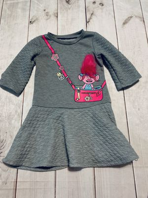 Cute Trolls Sweatshirt Dress - 4T for Sale in Eden, NC