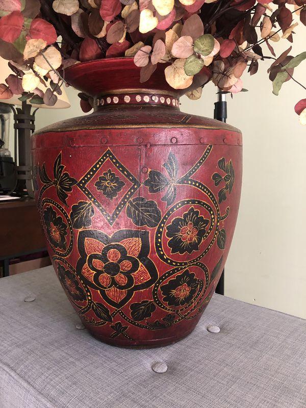 Large Faux Plant Home Decoration Large Vase