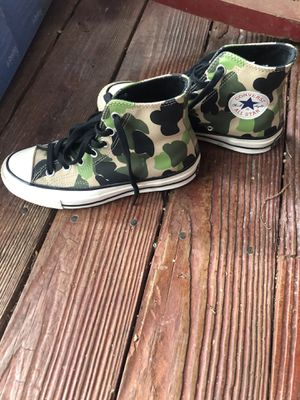 Converse Camouflage high tops for Sale in O'Fallon, MO