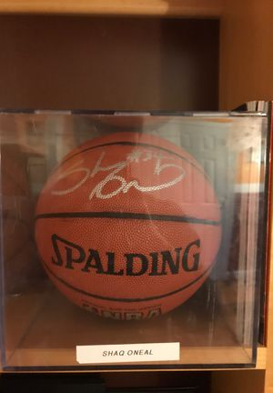 Shaq Shaquille O'Neal Autograph Signed Autograph Basketball NBA for Sale in Sully Station, VA