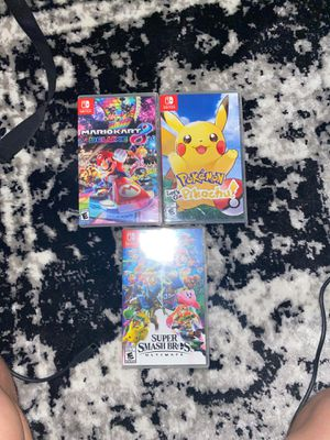 NINETENDO SWITCH GAMES for Sale in Lake Elsinore, CA