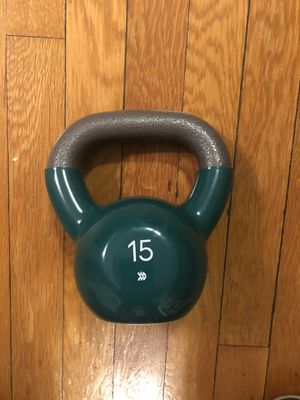 15 LB Kettlebell for Sale in Washington, DC